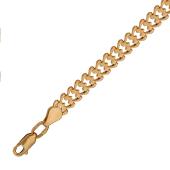 Браслет Ролекс, красное золото 5мм