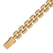 Браслет Ролекс Шашечки; три ряда, красное золото 9 мм