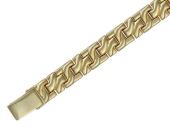Браслет Ролекс, единица римская, желтое золото 11мм