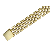 Браслет Ролекс 14 мм, желтое золото