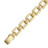 Браслет Ролекс с греческим рисунком, желтое золото