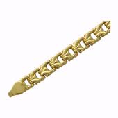 Браслет Ролекс, желтое золото 5мм