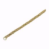 Браслет Нонна, желтое золото 2.2мм