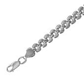 Браслет Ролекс из серебра 925 пробы