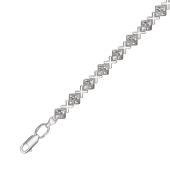 Браслет Ролекс  Х без вставки из серебра 925 пробы