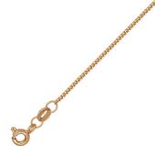 Цепь Панцирная, красное золото, 585 пробы 0.8мм