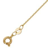 Цепь Якорная с хвостиком, желтое золото 1.1мм