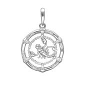 Подвеска Скорпион из серебра 925 пробы