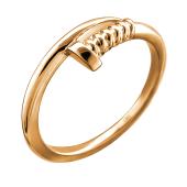 Кольцо Гвоздь из красного золота 585 пробы