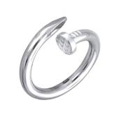 Кольцо Гвоздь из белого золота 585 пробы