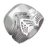 Кольцо мужское Штурмовик, серебро