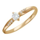 Золотое кольцо, классическое утолщенное