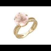 Кольцо с камнем огранки