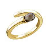 Кольцо Спичка из желтого золота 585 пробы