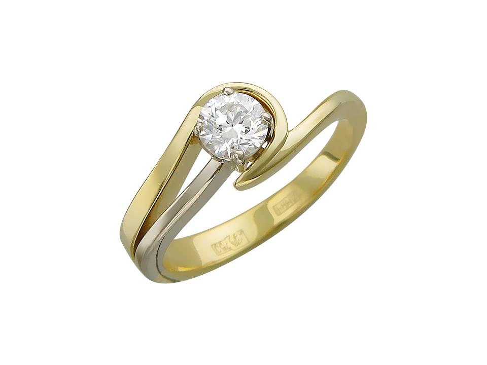 Отзывы о Эстет Золотое кольцо с бриллиантом est01К682637b2, 17 размер в интернет-магазине Rozetka.ua