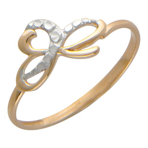 золотое кольцо со знаком бесконечности заказать