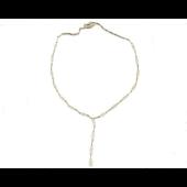 Колье с бриллиантами, желтое золото 750 проба