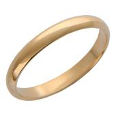 Кольцо обручальное классическое гладкое ширина шинки 3,1мм