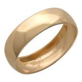 Кольцо обручальное гладкое классическое  шинка 5.2 мм.