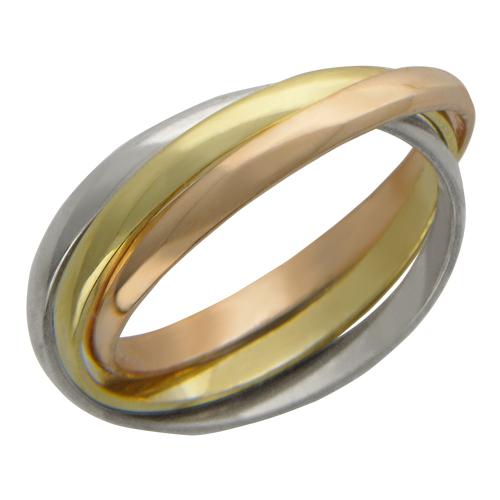 Кольцо тройное крученое afd26580361ec