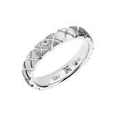 Кольцо с бриллиантом из белого золота 585 пробы