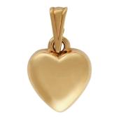 """Кулон """"Сердце"""" красное золото, 585 пробы"""