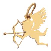 Кулон Купидон (Амур), красное золото 585 проба