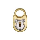 Кулон Викс Амбарный Замок, желтое золото