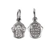 Икона Божьей Матери, серебро