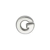 Кулон Викс буква G, серебро