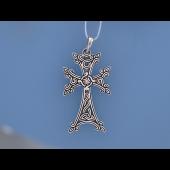 Крест армянский из серебра