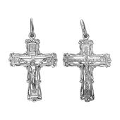 Крест православный из серебра