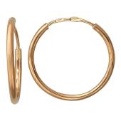 Серьги-кольца конго Диаметр 18мм (1,8 см)