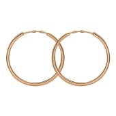 """Конго"" красное золото (585 проба) Диаметр: 22мм (2.2 см)"