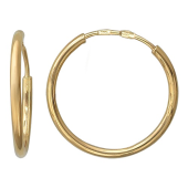 Серьги-кольца конго Диаметр 15мм. (1,5 см.)