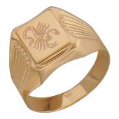 Мужское золотое кольцо со скорпионом, красное золото 585 пробы