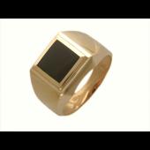 Печатка, красное золото, 585 пробы