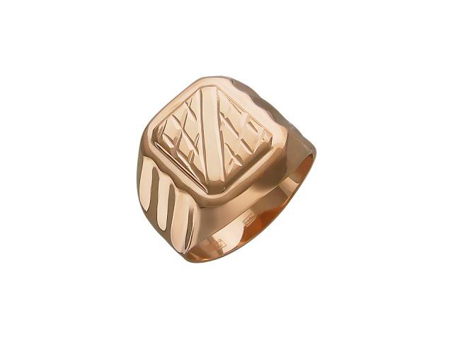 Красивое кольцо из красного золота - фото 1. Красивое кольцо из красного золота - Без вставки - Красное золото