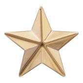 Звезда майорская, красное золото (майор, подполковник, полковник) 20мм