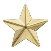 Звезда майорская, желтое золото (майор, подполковник, полковник) 20мм