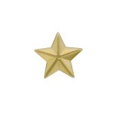 Звезда лейтенантская, желтое золото (лейтенант, старший лейтенант, капитан)