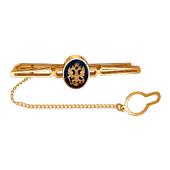 Зажим для галстука из красного золота 585 пробы