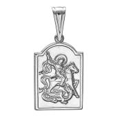 Георгий Победоносец в серебре