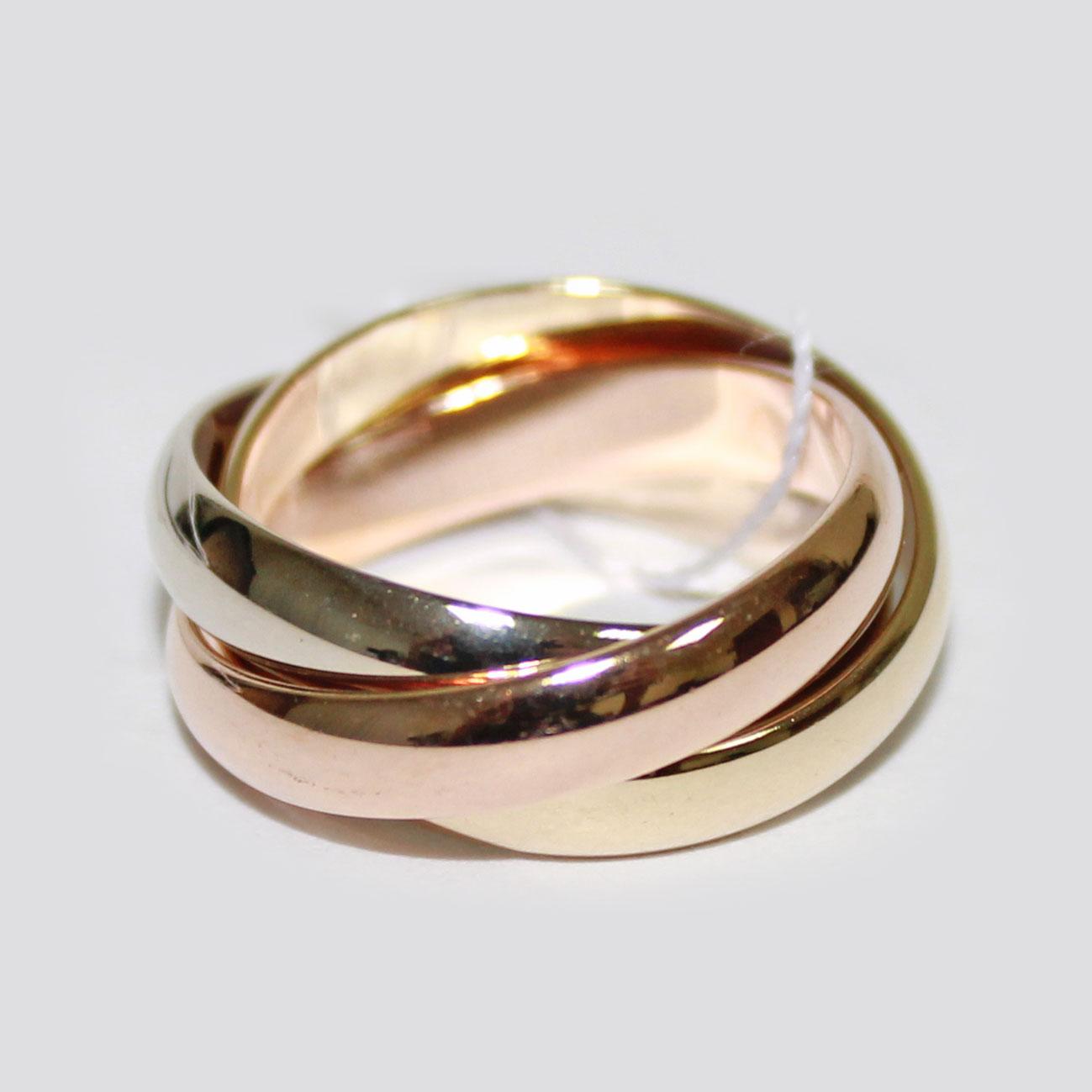 Кольцо обручальное Тринити 772e591a428b4