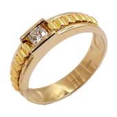 Кольцо мужское Премиум с бриллиантом, комбинированное золото