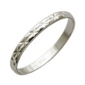 Обручальное кольцо, белое золото, 585 пробы, ширина шинки 2 мм
