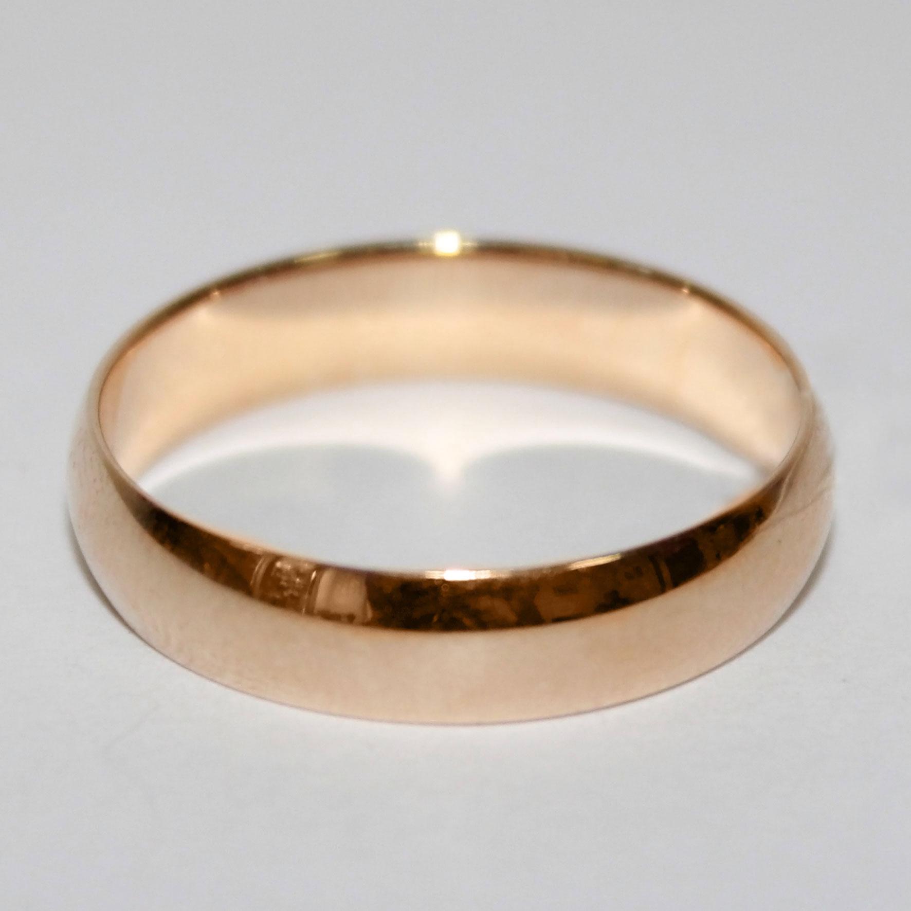 Кольцо обручальное гладкое классическое шинка 5 мм 876a56e0a2991