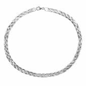 Цепь-колье Косы, серебро