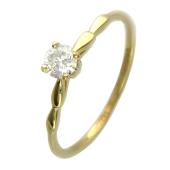 Кольцо, жёлтое золото