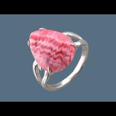 Кольцо с перламутром из серебра